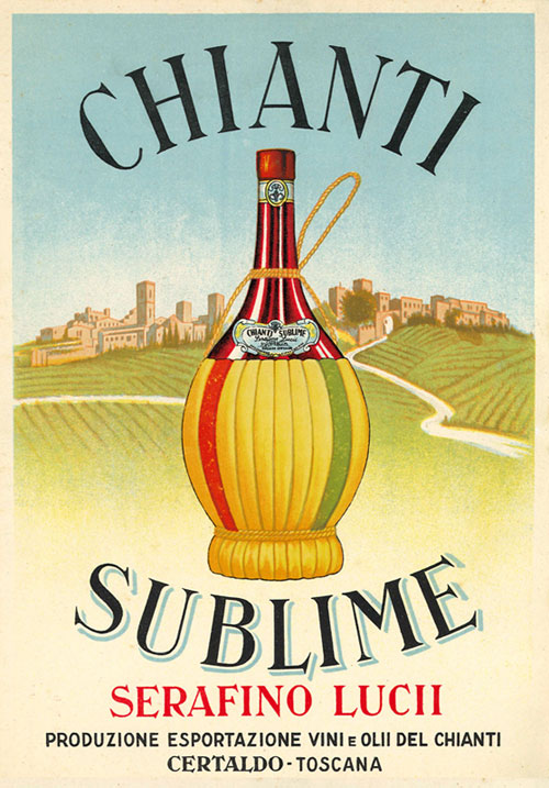 Chianti Sublime historical poster