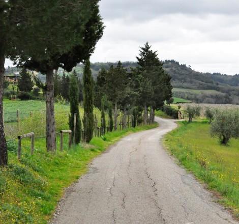 Podere Graticci, strada di Megognano